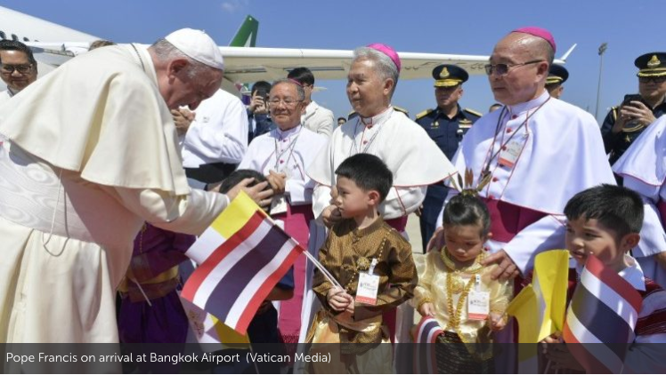 Read more about the article What it means for Pope Francis to visit Thailand, a majority Buddhist country