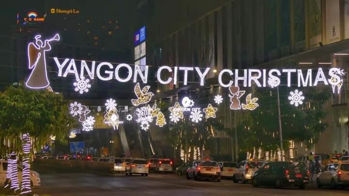 Christmas in Yangon