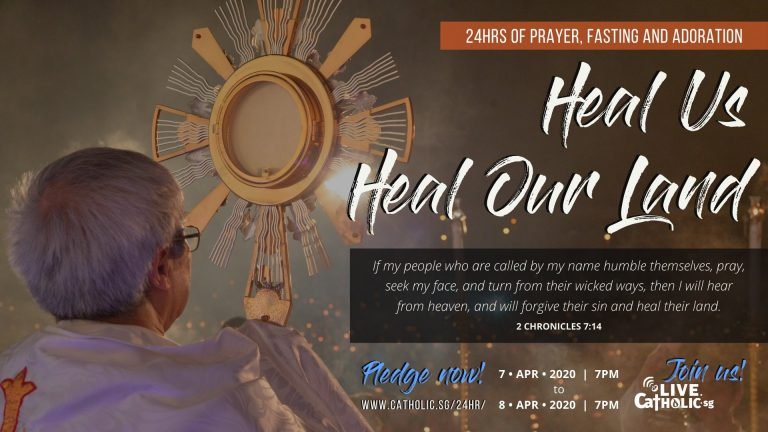 Read more about the article Singapore to start 24-hour prayer, fasting and adoration at 7pm today – April 7