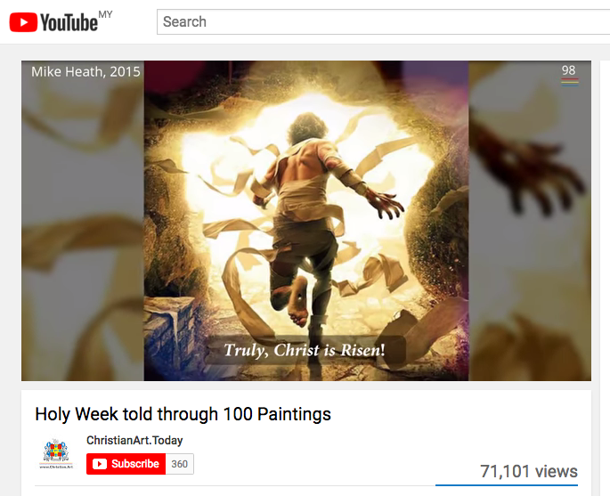 Read more about the article Video: Holy Week told through 100 paintings