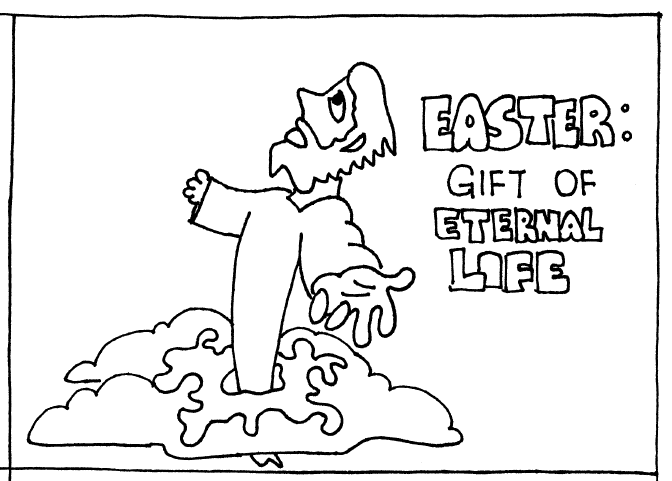 Read more about the article Holy Week: Fantastic Feasts and When to Find Them (1c) – Comics by Dr Mel