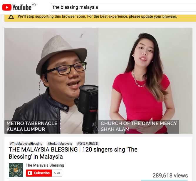 Read more about the article Worship song The Blessing goes viral as virtual choirs emerge around the world