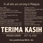Mission Sunday Oct 18