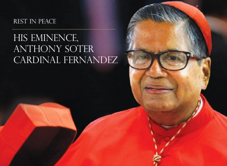 Read more about the article RIP: His Eminence, Anthony Soter Cardinal Fernandez