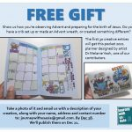 Free 2021 daily planner when you send us your Advent photos