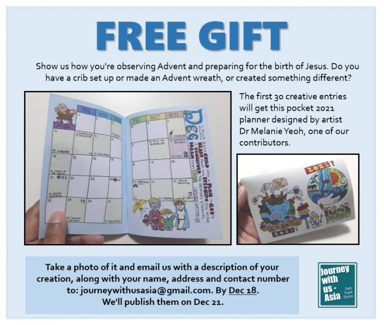 Read more about the article Free 2021 daily planner when you send us your Advent photos