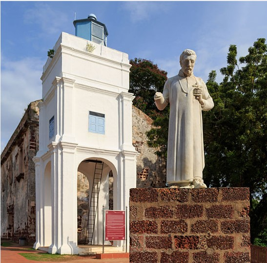 Read more about the article St Francis Xavier: crab, crucifix, his arm and Malacca