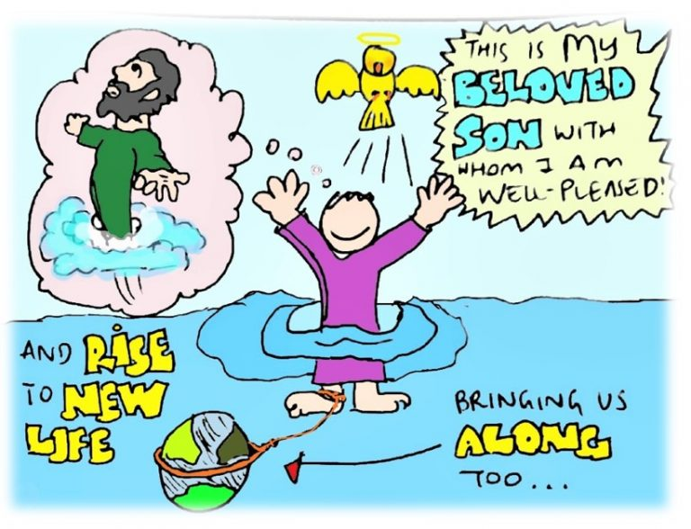 Why was there a need for John to baptise Jesus?