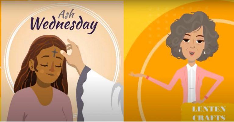 Ash Wednesday – Lenten Craft with Aunty Anna
