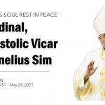 RIP Cardinal Cornelius Sim