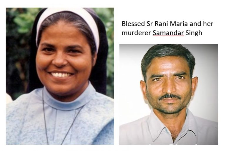 Read more about the article Murder of Blessed Sr Rani Maria in 1995: parents forgive killer and accept him as son