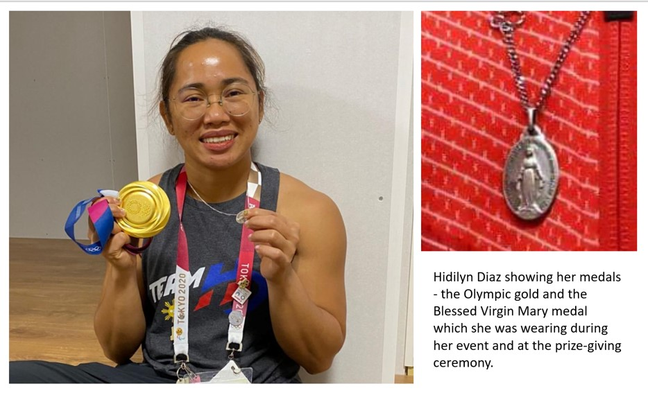 You are currently viewing First ever Olympic gold for Philippines comes from a Catholic who trained in Malacca